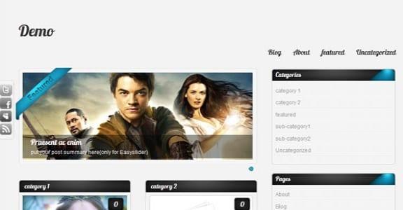 Шаблон Wordpress - Amphion Lite