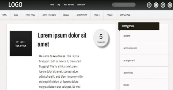 Шаблон Wordpress - Inspire