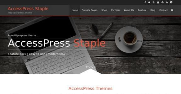 Шаблон Wordpress - AccessPress Staple