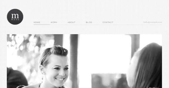 Шаблон Wordpress - Cudazi Mono