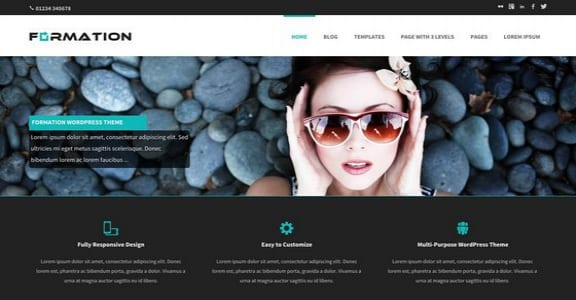 Шаблон Wordpress - Formation