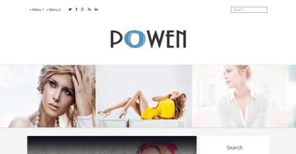 Шаблон Wordpress - Powen Lite