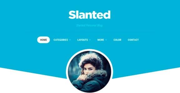 Шаблон Wordpress - Slanted
