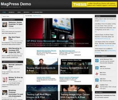 Шаблон WordPress - Tritone