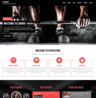 Шаблон WordPress - Cardio