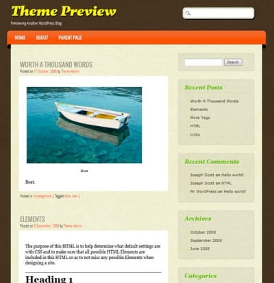 Шаблон WordPress - ePublishing