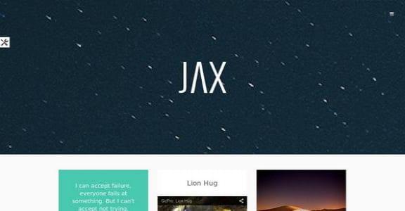 Шаблон Wordpress - Jax Lite