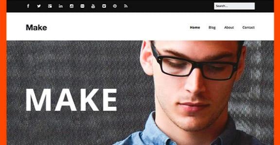 Шаблон Wordpress - Make