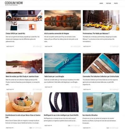 Шаблон WordPress - Codium Now