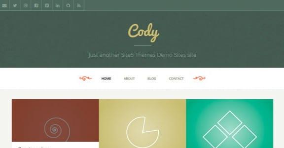 Шаблон Wordpress - Cody