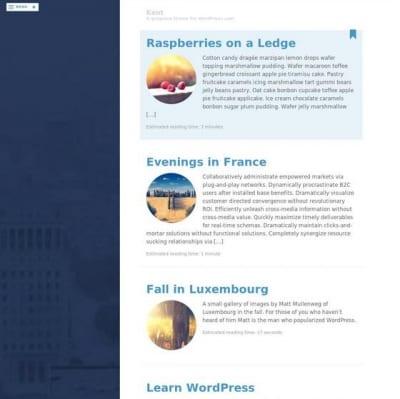 Шаблон WordPress - Kent