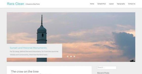 Шаблон Wordpress - Rara Clean