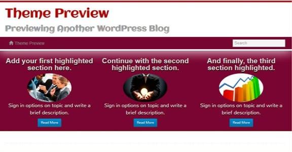 Шаблон Wordpress - Athenea