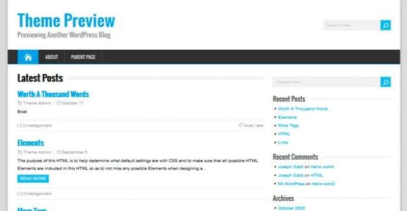 Шаблон Wordpress - HappenStance