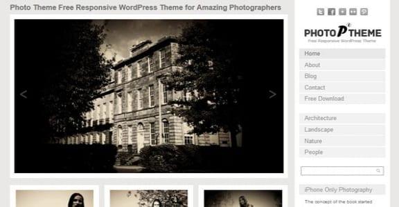 Шаблон Wordpress - Photo Responsive