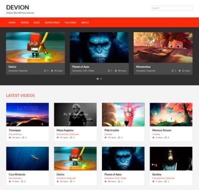 Шаблон WordPress - Devion
