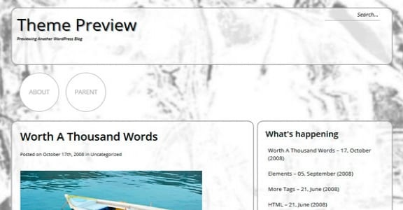 Шаблон Wordpress - GreyRound
