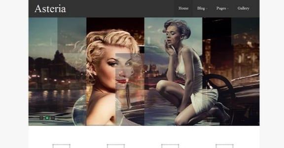 Шаблон Wordpress - Asteria Lite