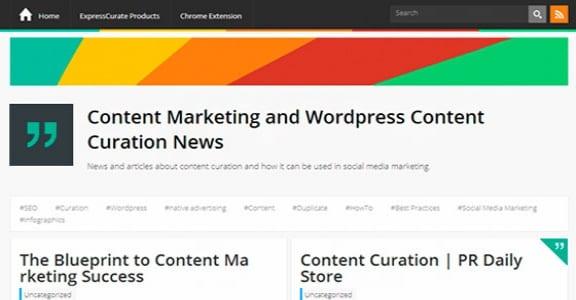 Шаблон Wordpress - ExpressCurate