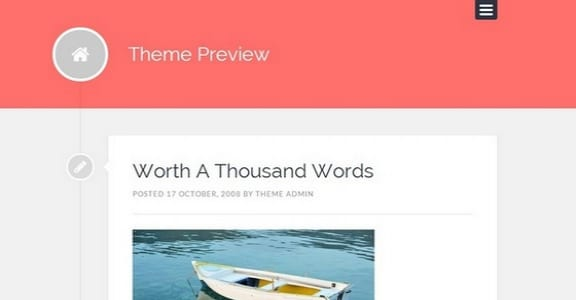 Шаблон Wordpress - Lingonberry