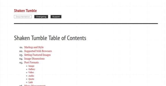 Шаблон Wordpress - Easy Docs