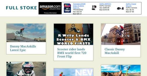 Шаблон Wordpress - Virality