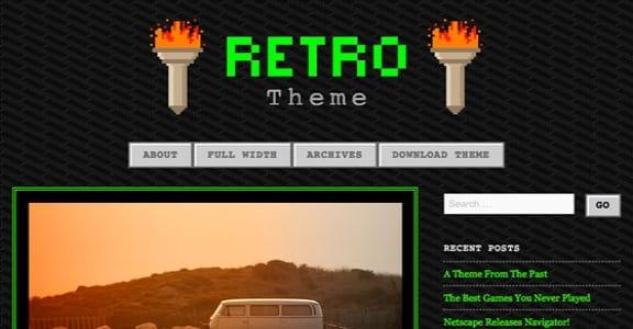 Шаблон Wordpress - 90s Retro
