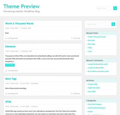 Шаблон WordPress - PaperCuts