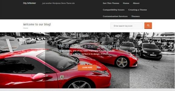 Шаблон Wordpress - City Informer