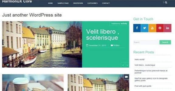Шаблон Wordpress - HarmonUX Core