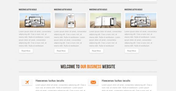Шаблон Wordpress - Hannari