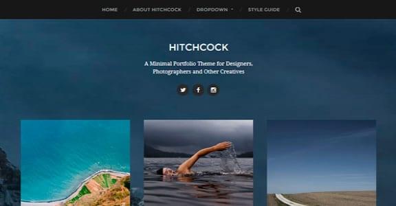 Шаблон Wordpress - Hitchcock