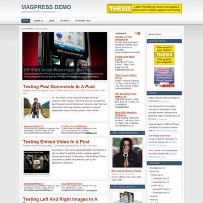Шаблон WordPress - Bravio