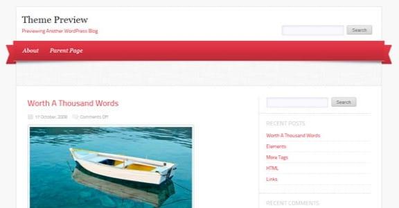 Шаблон Wordpress - Delicacy