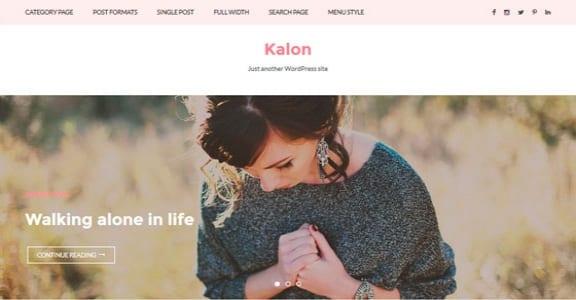 Шаблон Wordpress - Kalon