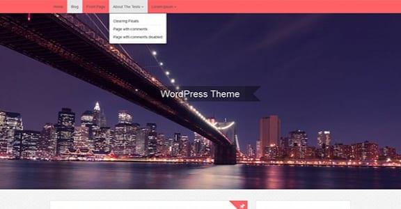 Шаблон Wordpress - opal