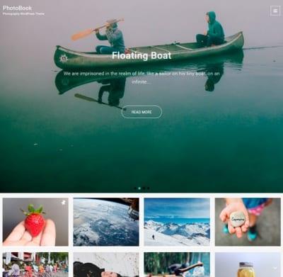 Шаблон WordPress - PhotoBook
