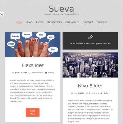 Шаблон WordPress - Suevafree