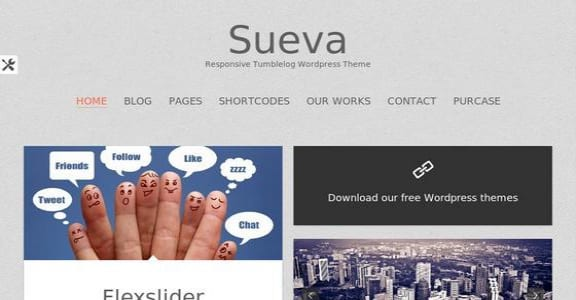 Шаблон Wordpress - Suevafree