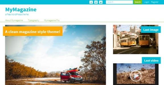 Шаблон Wordpress - MyMagazine