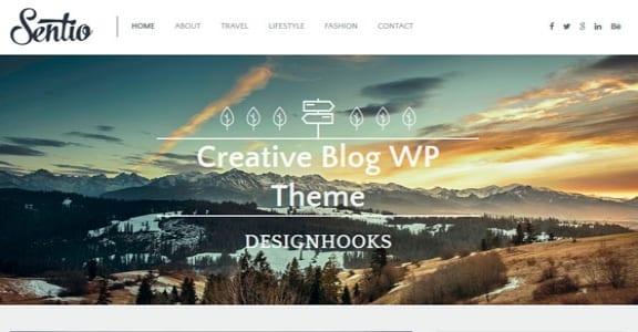 Шаблон Wordpress - Sentio