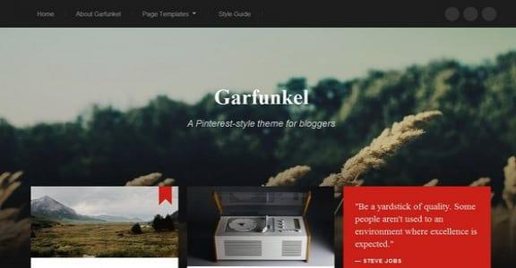 Шаблон Wordpress - Garfunkel