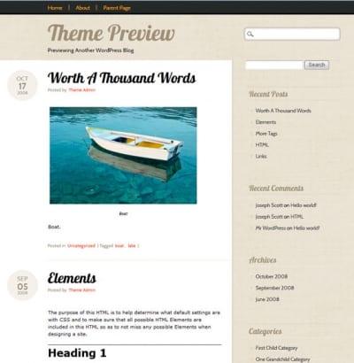 Шаблон WordPress - Infoist