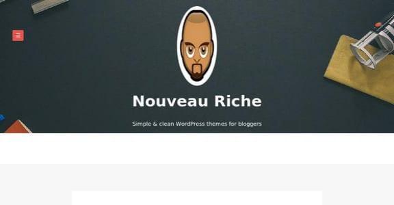 Шаблон Wordpress - Nouveau Riche