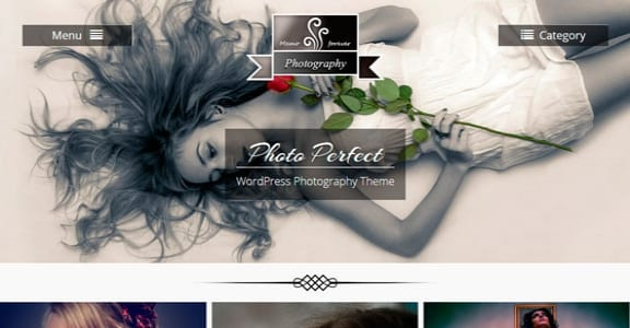 Шаблон Wordpress - Photo Perfect