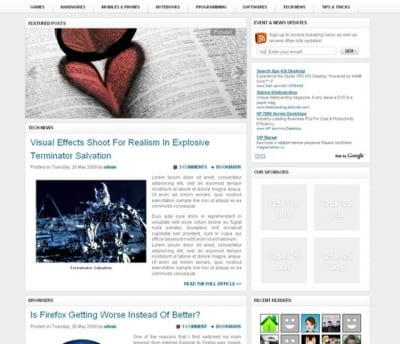 Шаблон WordPress - Techified
