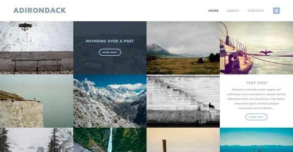 Шаблон Wordpress - Adirondack