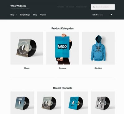 Шаблон WordPress - Storefront