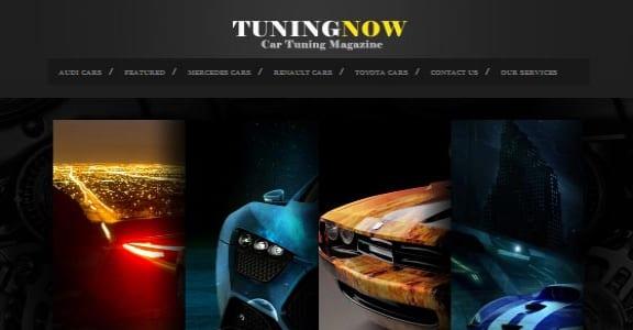 Шаблон Wordpress - TuningNow
