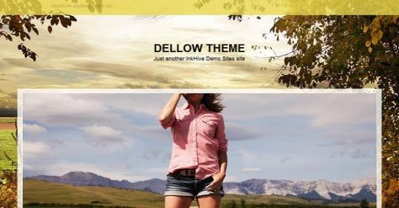 Шаблон Wordpress - Dellow